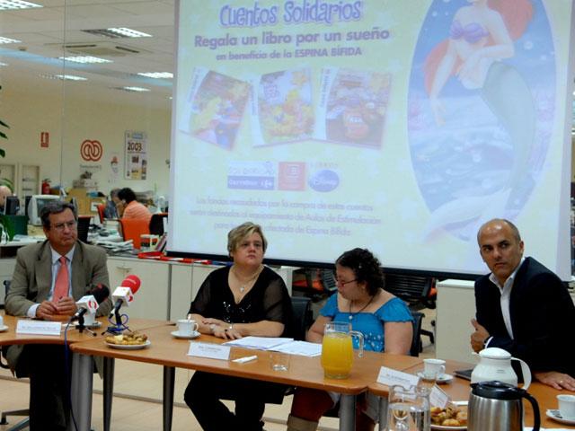 """La Fundación Solidaridad Carrefour y Disney venden """"un libro por un sueño"""" en favor de los niños con Espina Bífida"""