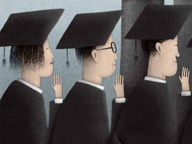 El juramento hipocrático de los MBA: Los alumnos muestran el camino