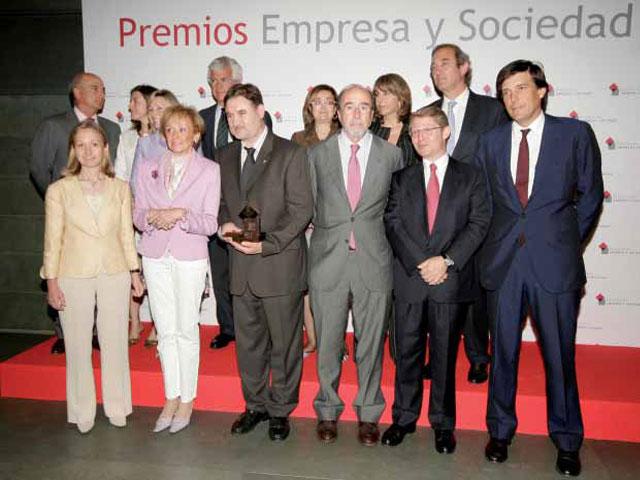 Accenture, Citi, Repsol y Unió Pagesos recibieron los Premios Fundación Empresa y Sociedad 2009