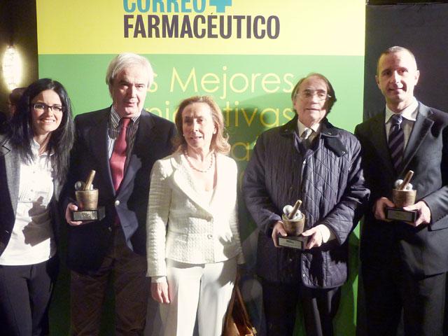 Correo Farmacéutico premia la I Convocatoria de las Becas Novartis de Investigación de la Academia de la Renina