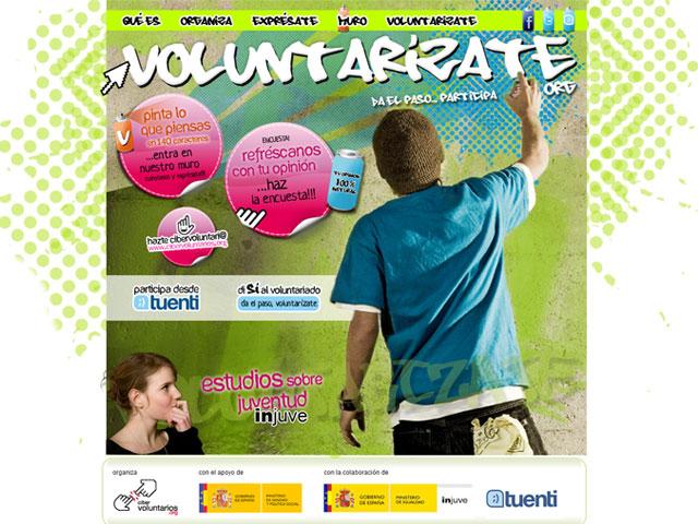 Voluntarízate: un llamamiento para promover el voluntariado entre los jóvenes