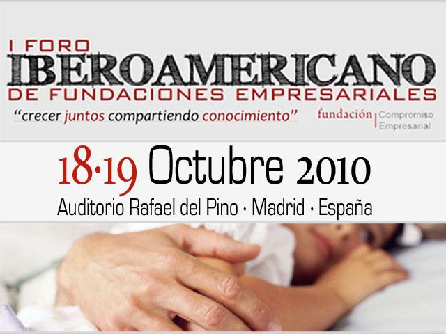 I Foro Iberoamericano de Fundaciones Empresariales