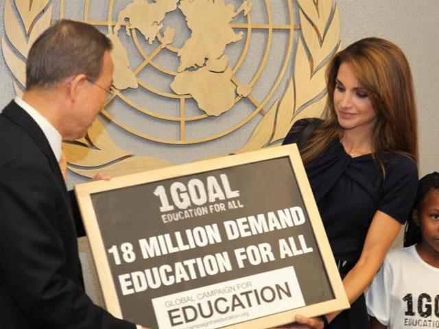 18 millones de personas piden que todos los niños puedan ir al colegio