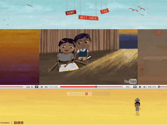 Una historia muy real crece en el mundo virtual
