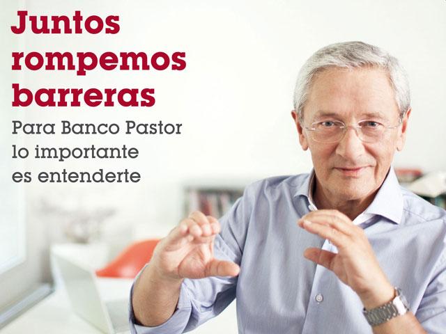 Banco Pastor y la Federación Gallega de Sordos presentan un servicio de comunicación pionero en la banca