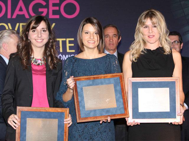 Esther Barrio, Accésit de RSC de los Premios Diageo Joven y Brillante