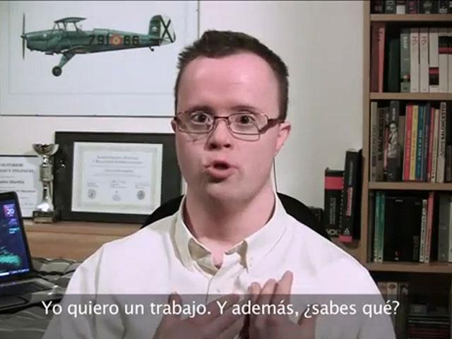 Un vídeo currículo de un joven con discapacidad revoluciona las redes sociales
