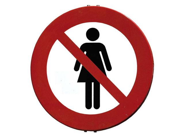 El muro de la vergüenza [Mujeres en los consejos]