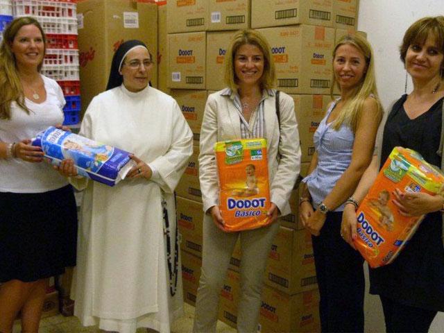 Más de 50.000 pañales para la campaña SOS Bebé