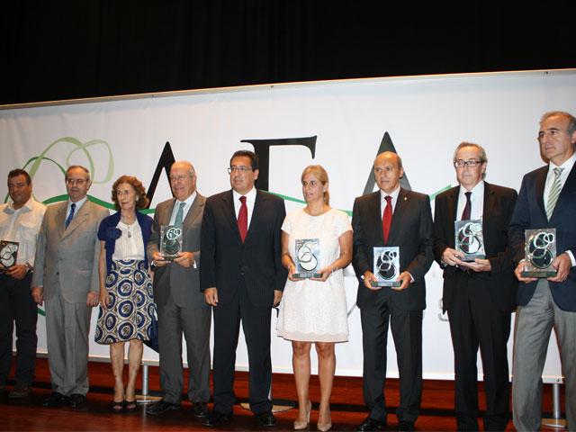 AFA premia a seis fundaciones por su compromiso social