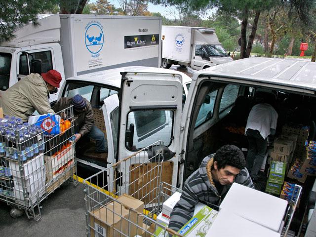 Bancos de alimentos: una lección de esperanza