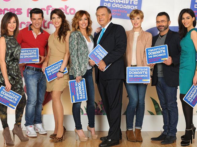 Éxito de la campaña de donación de órganos de Mediaset
