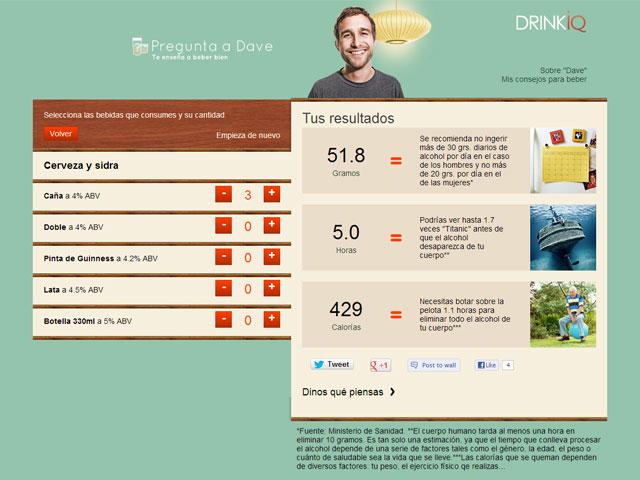 Diageo lanza una nueva herramienta para fomentar el consumo responsable de alcohol