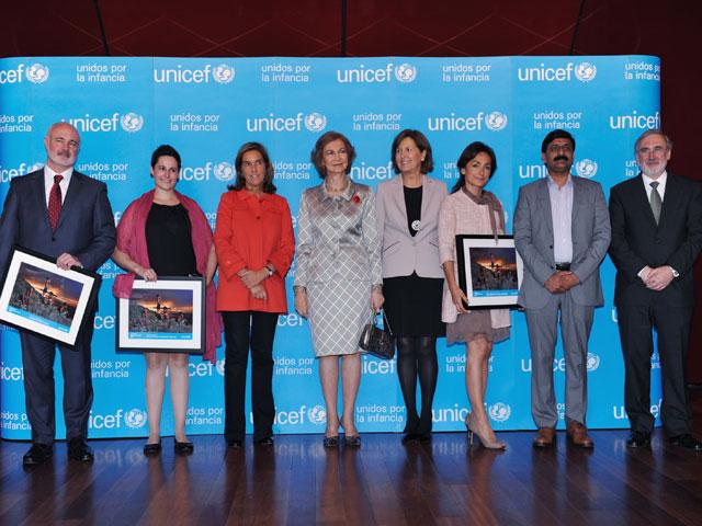 Unicef España entrega sus Premios 2013 por los derechos de la infancia