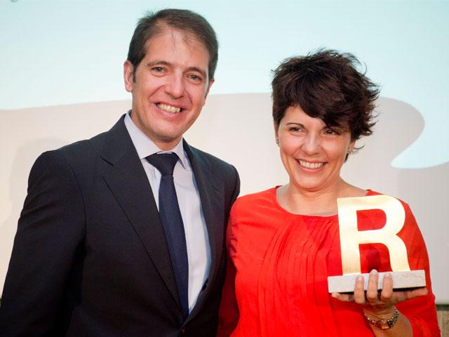 Laura Martín, ganadora de los Premios R Ecoembes