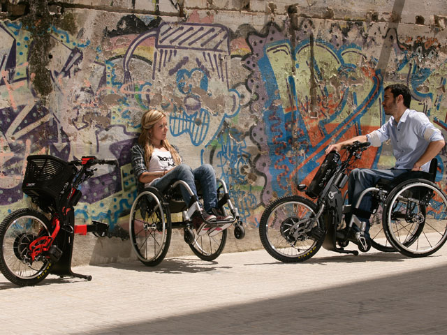 Los emprendedores sociales de Batec ponen ruedas a la vida de los discapacitados