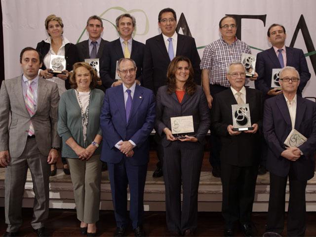 La Asociación de Fundaciones Andaluzas entrega sus premios anuales en la celebración de su aniversario