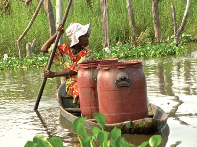 El trabajo infantil en África