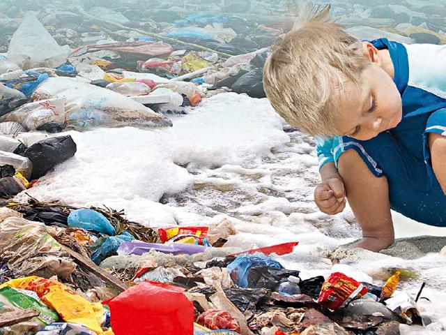 Las islas de residuos de plástico, en Madrid de la mano de Endesa