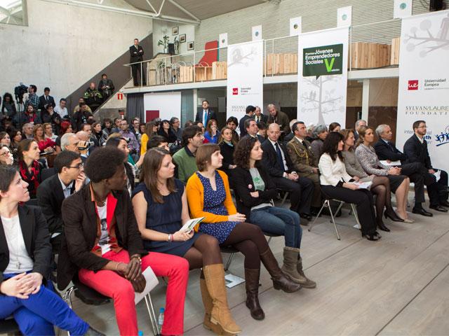 Premios Jóvenes Emprendedores Sociales (JES) de la UEM