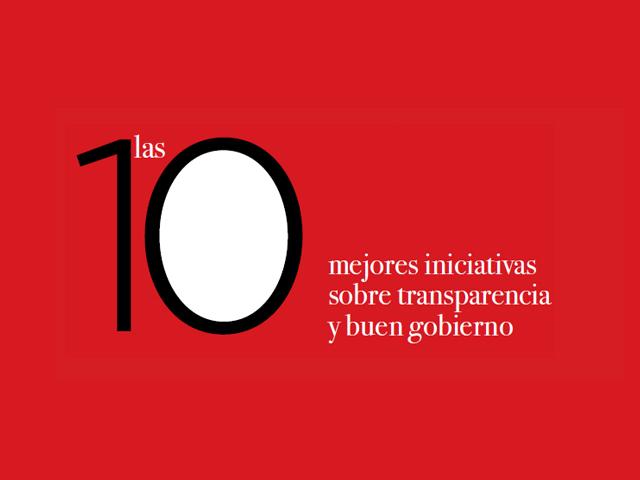 Las 10 mejores iniciativas sobre transparencia y buen gobierno 2013
