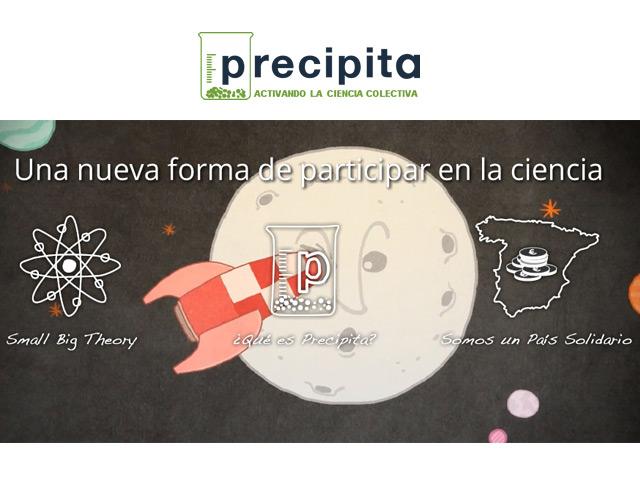 Nace Precipita, la primera plataforma de crowdfunding para financiar la ciencia española