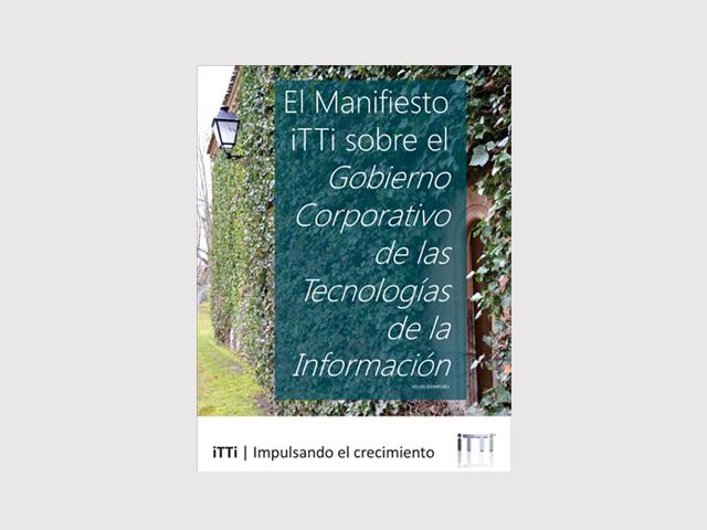 Se presenta el Manifiesto sobre el Gobierno Corporativo de las Tecnologías de la Información