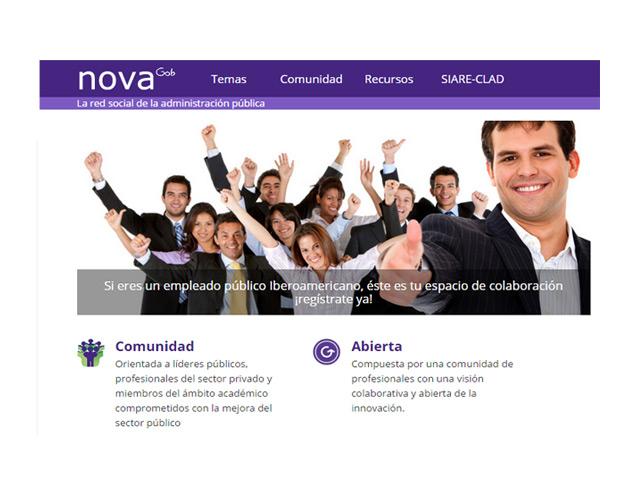 NovaGob, una red para la innovación del sector público