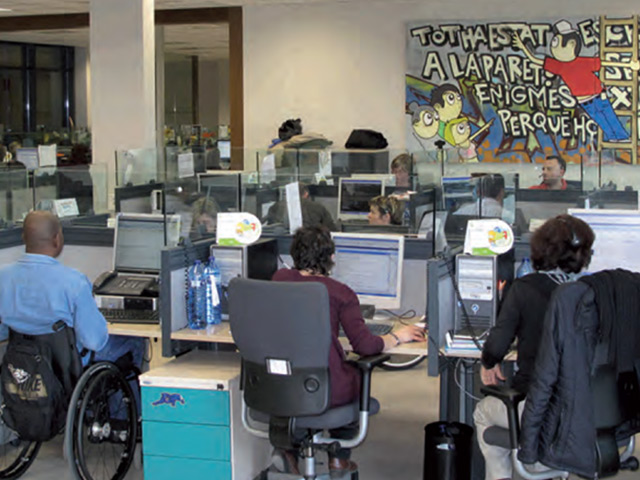 Las empresas se implican en la inserción laboral