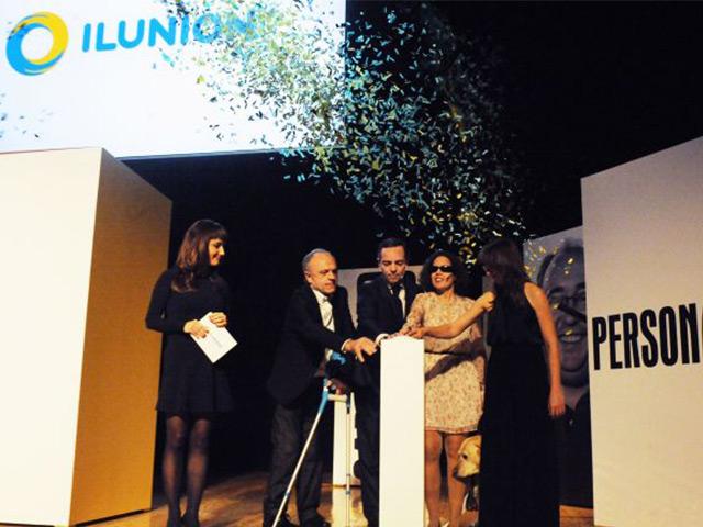 La ONCE presenta Ilunion, la nueva marca que unifica todas sus empresas