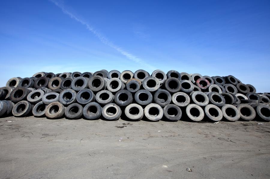 Neumáticos usados, el valor de un residuo