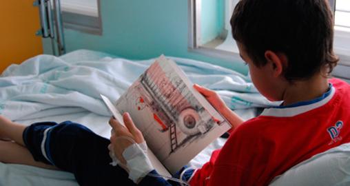 La Fundación Atresmedia celebra el Día de Libro con cerca de 8.000 niños hospitalizados