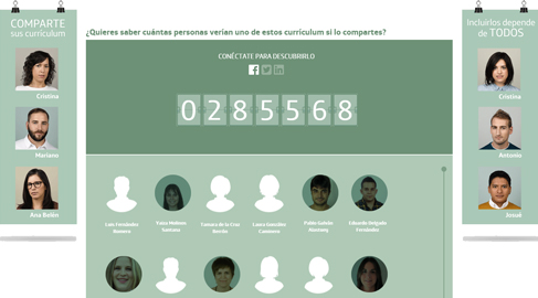 Fundación Telefónica invita a compartir los currículum de los jóvenes desempleados