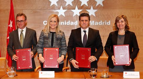 Endesa, Gas Natural, Iberdrola y la Comunidad de Madrid, juntos contra la pobreza energética