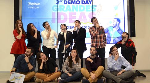 Los jóvenes emprendedores de Fundación Telefónica apuestan por lo social