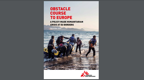 Médicos sin Fronteras advierte que las políticas europeas han agravado la crisis de refugiados