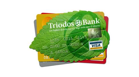 Triodos Bank presenta la primera tarjeta de crédito ecológica