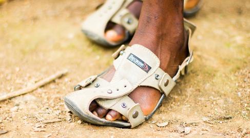 Un zapato que crece… ¿Será posible?