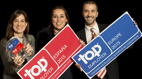 73 compañías son certificadas como Top Employers en España por cuidar a sus empleados