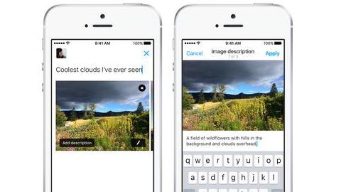 Twitter incorpora audiodescripción para personas ciegas en las imágenes publicadas