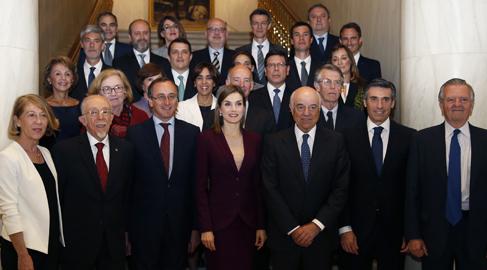 La reina Letizia se interesa por el impacto de las microfinanzas en América Latina