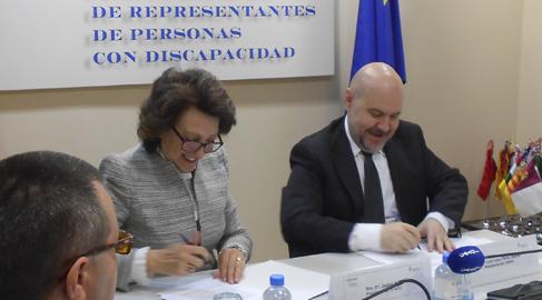 La AECC y el Cermi trabajarán juntos por un verdadero espacio sociosanitario inclusivo