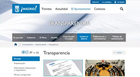 El Ayuntamiento de Madrid publica los perfiles curriculares del personal eventual