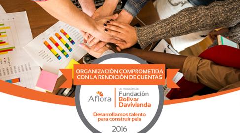 Fundación Bolívar Davivienda insta a las ONG latinoamericanas a rendir cuentas