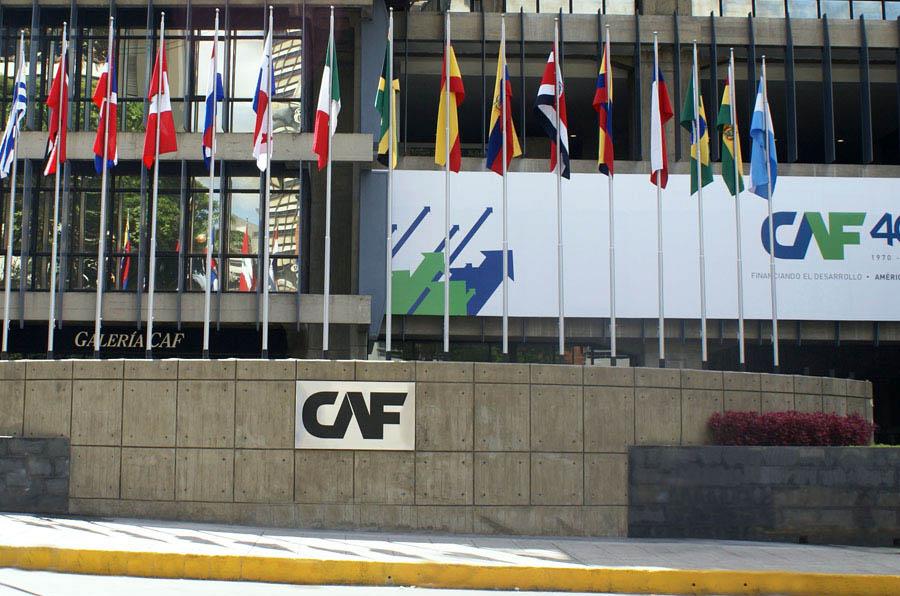 <p>Sede Central de CAF.</p>
