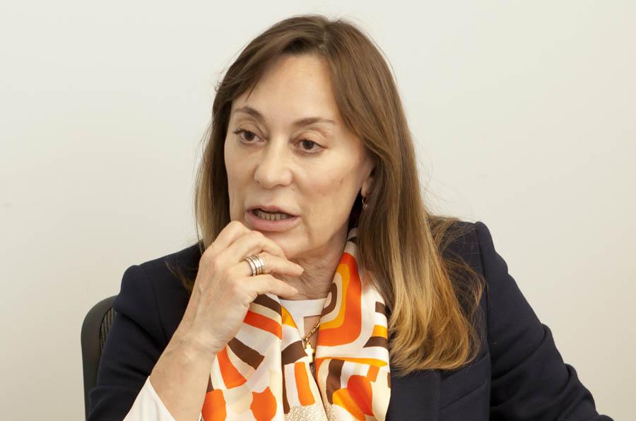 <p>Paloma del Val, secretaria general del patronato de la Fundación BBVA Microfinanzas.</p>