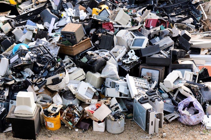 Sectores muy opacos: ¿Dónde va la basura electrónica?
