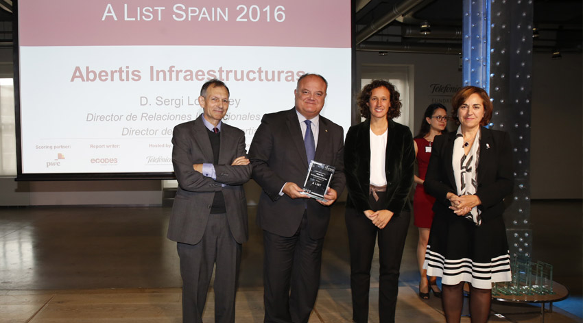 16 compañías españolas reconocidas por su acción frente al cambio climático