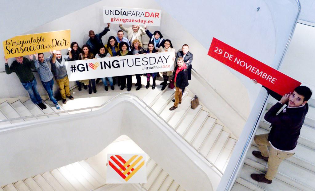 19 organizaciones promueven el día solidario #GivingTuesday en España