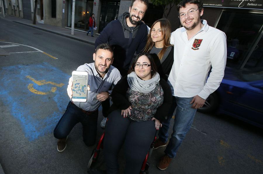 <p>El equipo de Disabled Park.</p>